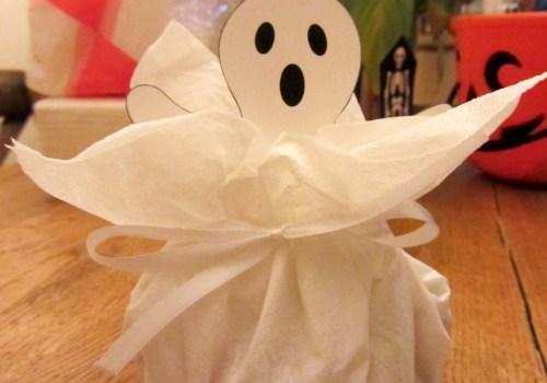 Bourses à Bonbons Fantômes - Fêtes vous même