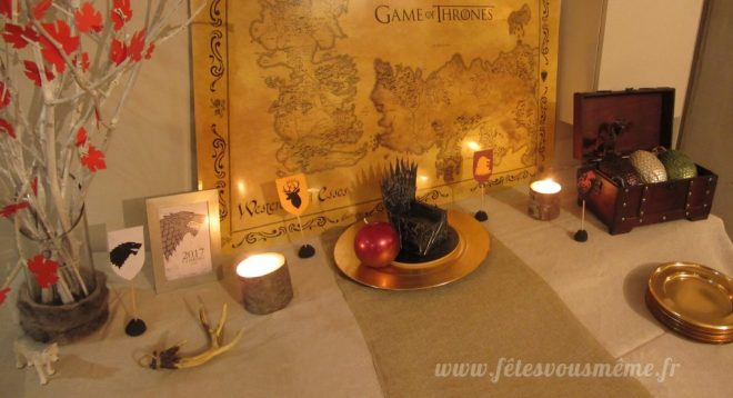 Réveillon Game of Throne - set up - Fêtes Vous Même