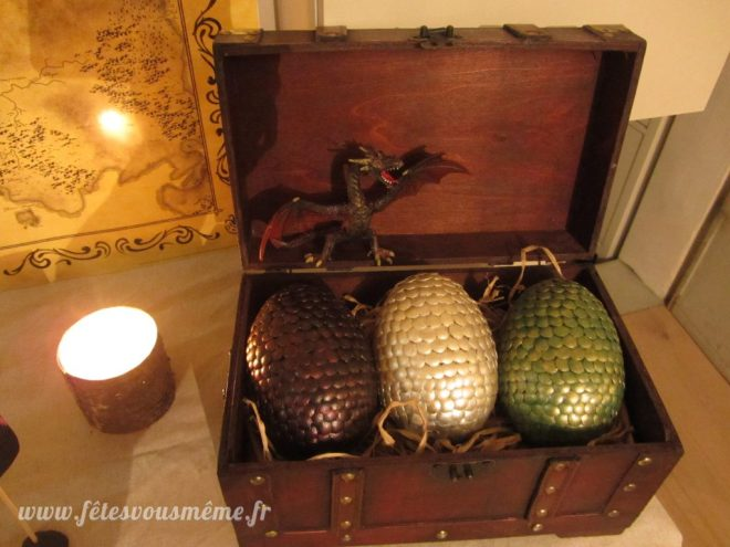 Réveillon Game of Thrones - Oeufs de dragons version Game of Thrones - Fêtes vous même