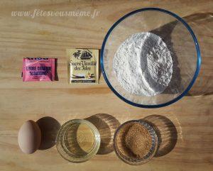 Biscuits Poissons d'Avril - Ingrédients - Fêtes vous même