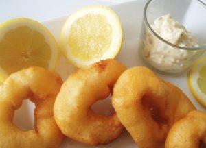 Tapas & Sangria - beignets de calamars - Fêtes vous même