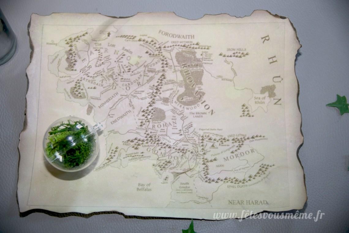 Carte terre du milieu - Détail - Fête vous même