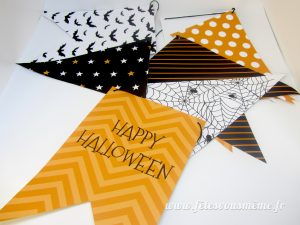 Fanions - Pack Festif Halloween - Fêtes vous même