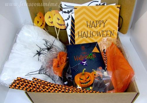 Composition - Pack Festif Halloween - Fêtes vous même