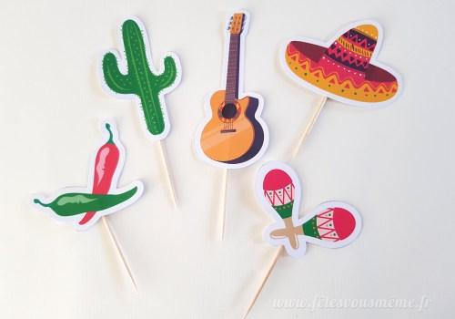 Table Gourmande mexicaine - Fêtes vous même