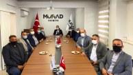 MHP FETHİYE'DEN MÜSİAD'A ZİYARET