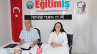 EĞİTİM-İŞ MUĞLA ŞUBE BAŞKANI FETHİYE'DEN SESLENDİ