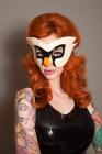 Latex-Swan-masquerade-mask
