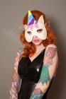 Latex-Unicorn-masquerade-mask
