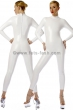 Catsuit-Stretchlack-White