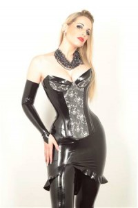 Latex Laced Basque