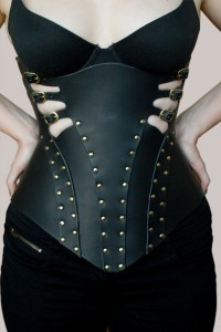 Lethe Leather Corset
