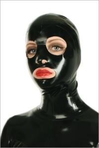 Lightweight latex mask