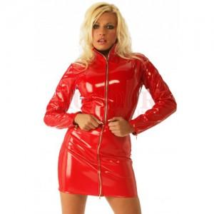 PVC Zip Top - Red