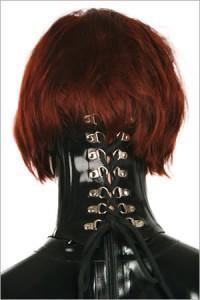 Latex neck corsett