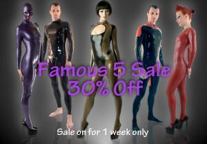 Libidex Five Catsuit Sale 3
