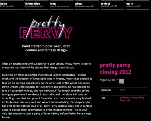 Pretty Pervy Closing