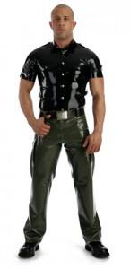 Latex army pants