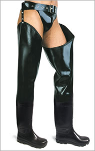 Thigh waders without lining