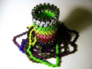 Powder-coated bracelets