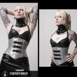 Militia underbust corset