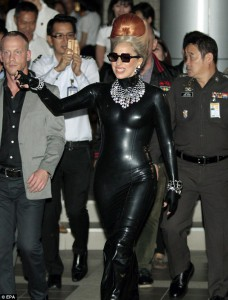 Lady Gaga in Bangkok 2