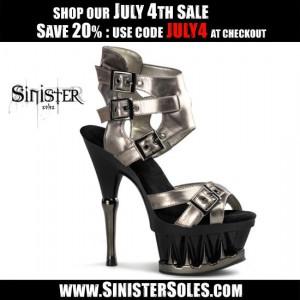 Sinister Sles Sale