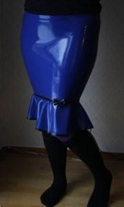 Classic Latex skirt