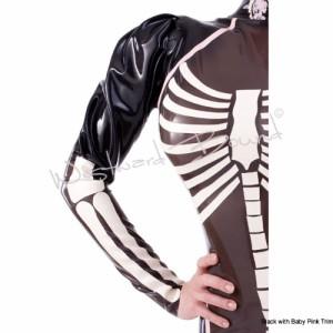 Palermo Skeleton Latex Dress 3