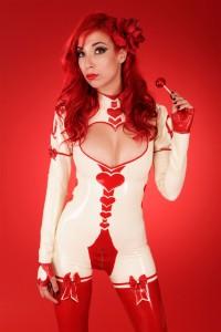 Queen Of Hearts Catsuit