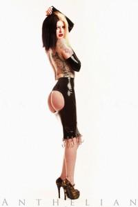 Hooker Spanking Skirt
