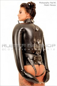 Inflatable Rubber Straight Jacket