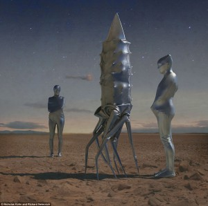 Zentai goes to Mars 2