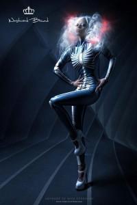 Palermo Skeleton Catsuit 2