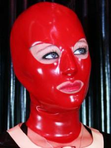 Anniversary mask red
