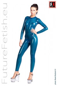 NECK ENTRY CATSUIT 0242