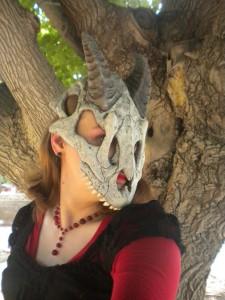 Dragon Skull Mask 2