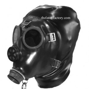 SWISS GAS MASK FOR BONDAGE
