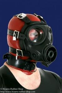 ritish S10 bondage gasmask with collar