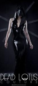 CELAENO long latex sexy DRESS