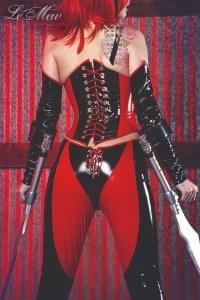 Bloodrayne cosplay PVC Costume 3