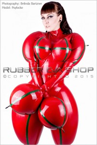 Inflated Rubber Doll Catsuit 1