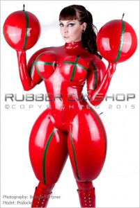Inflated Rubber Doll Catsuit 2