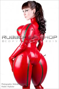 Inflated Rubber Doll Catsuit 3