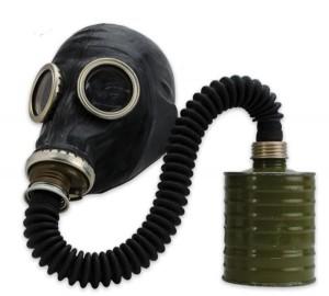 ロシアGP5ガスマスクとホース、フィルター