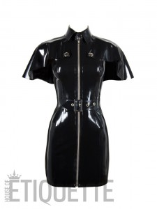 MARY CAPELET DRESS front