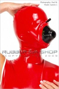 Rubber Eva Shopマスク 2