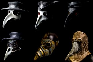 Plague Doctor Masks