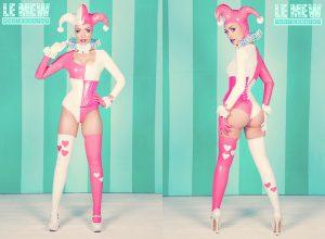 Harley Heart PVC Costume