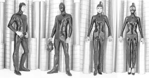 Cocoon Latex Catsuit